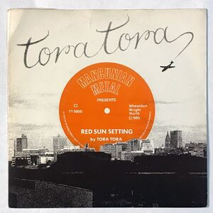 Tora Tora - Red Sun Setting 7-Inch TT5000