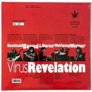 Virus - Revelation LP GODLP015