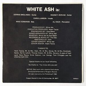White Ash - Live With Rock N Roll 7-Inch WA-001