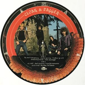 Witchfynde - Cloak & Dagger LP (picture disc) P Exit 5
