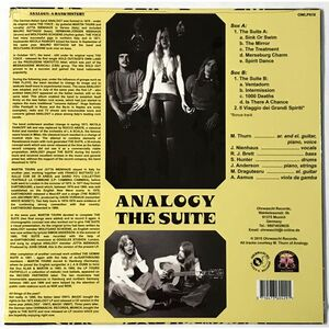 Analogy - The Suite LP OWLP019
