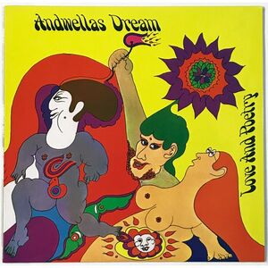 Andwellas Dream - Love and Poetry LP ARLP508