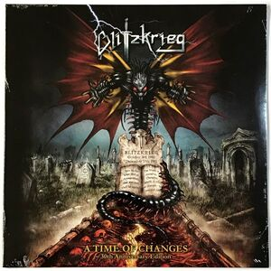 Blitzkrieg - A Time Of Changes: 30th Anniversary Edition LP HRR 628