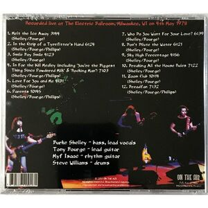 Budgie - Live In Milwaukee 1978 CD AIR 18