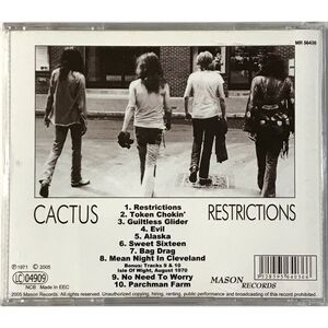 Cactus - Restrictions CD MR 56436