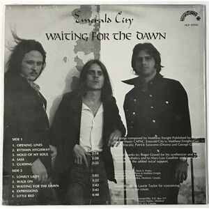 Emerald City - Waiting For The Dawn LP HLP-97202 (RE)