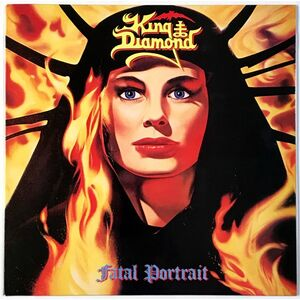 King Diamond - Fatal Portrait LP RR 9721