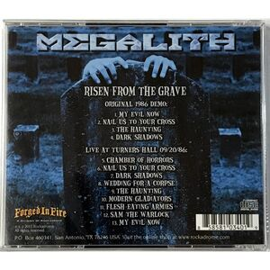 Megalith - Risen from the Grave CD ROCK034-F-2