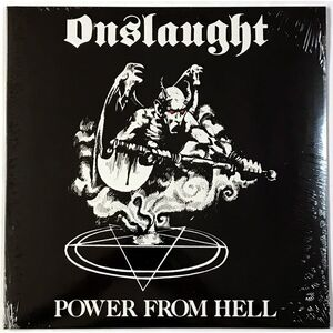 Onslaught - Power From Hell LP HRR 301