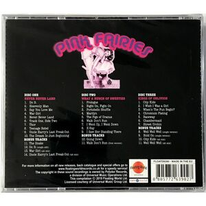Pink Fairies - The Polydor Years 3-CD FloatD 6390