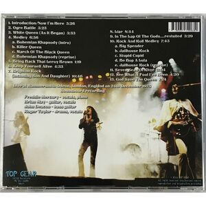 Queen - Live At Hammersmith 1975 CD Top 6