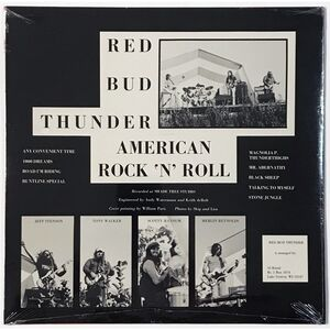 Red Bud Thunder - American Rock & Roll LP LP