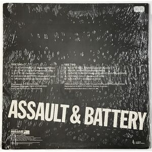 Rose Tattoo - Assault & Battery LP WTG 19312