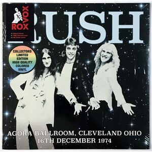 Rush - Agora Ballroom, Cleveland Ohio 16th December 1974 LP RVLP2046