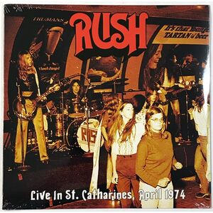 Rush - Live In St. Catherines, April 1974 LP VER 16