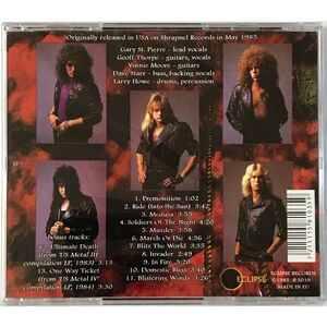 Vicious Rumors - Soldiers Of The Night CD ECL 1035