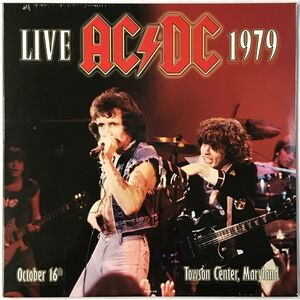 AC/DC - Live At Towson Center, MD 1979 2-LP RLL002