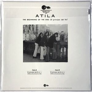 Atila - The Beginning Of The End LP LPS 022