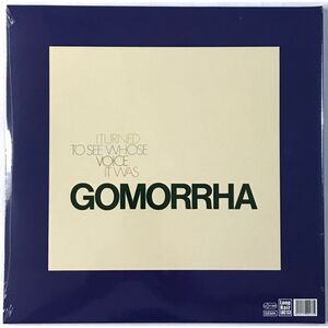 Gomorrha - I Turned to See Whose Voice it Was LP LHC133LP