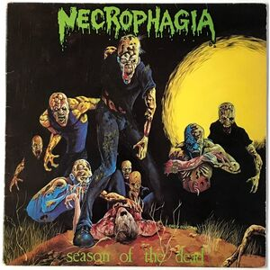 Necrophagia - Season Of The Dead LP NRR15