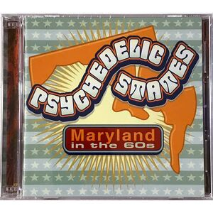Various Artists - Psychedelic States : Maryland 2-CD GF-272