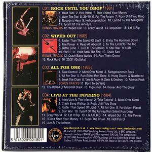 Raven - Over The Top: The Neat Years 1981-1984 4-CD Box HNEBOX118
