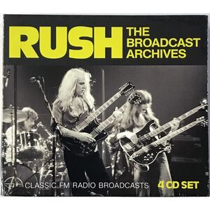 Rush - Broadcast Archives 4-CD BSCD 6089