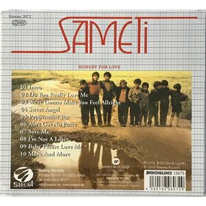Sameti - Hungry for Love CD SIR2072