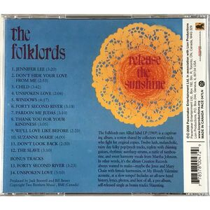Folklords - Release the Sunshine CD Pace 047-LN