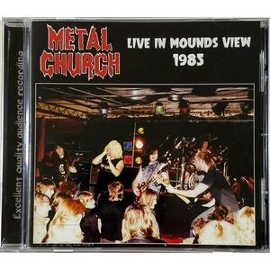 Metal Church - Live In Mounds View 1985 CD AIR 53