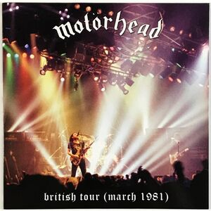 Motorhead - British Tour (March 1981) LP VER 84
