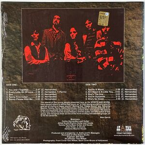 Spirits And Worm - Spirits And Worm LP AK141