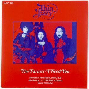Thin Lizzy - The Farmer / I Need You 7-Inch AIP 513
