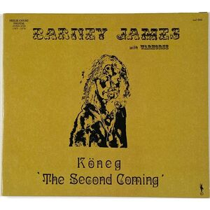 Barney James With Warhorse - Koneg 'The Second Coming' CD SCD006