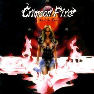 Crimson Fire - Metal is Back CD Iron003