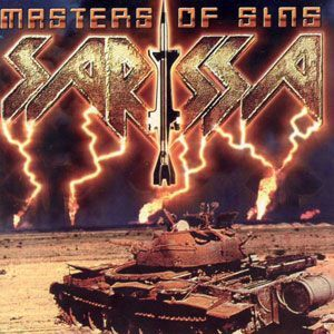 Sarissa - Masters of Sins CD BLRCD068