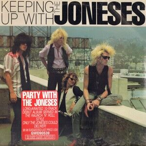 The Joneses - Keeping Up With The Joneses LP