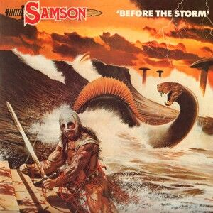 Samson - Before The Storm LP
