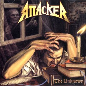 Attacker - The Unknown CD SSteel 63017