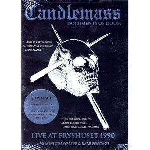 Candlemass - Documents of Doom DVD NMS-001