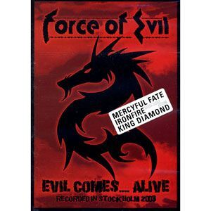 Force of Evil - Evil Comes....Alive DVD NMS007