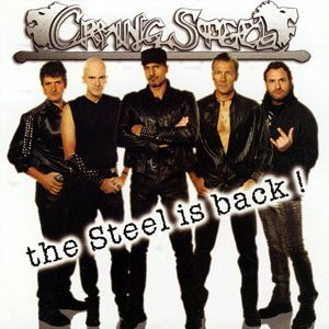 Crying Steel - The Steel is Back CD MGP013