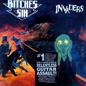 Bitches Sin - Invaders CD