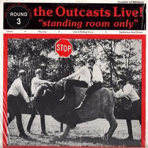 Outcasts, The - Standing Room Only LP LP-988 Mono
