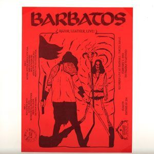 Barbatos - Razor Leather Live LP