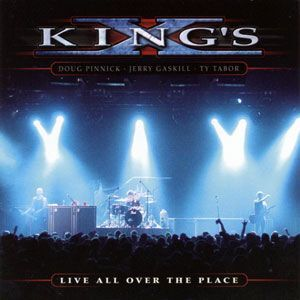 King's X - Live All Over the Place 2CD MB 14513